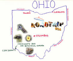 Napoleon Ohio Map by Maps Update 25601669 Ohio Tourist Attractions Map U2013 The Most