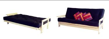 studio futon sofa bed both full size mattress u0026 long settee futonz