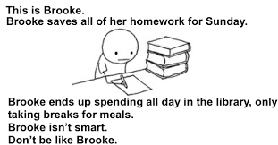 Homework Meme - five reasons you shouldn t save your homework for sunday life in