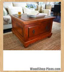 Woodworking Plans Coffee Tables by Coffee Table Storage Bench Woodworking Plans Woodshop Plans