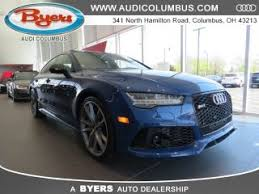 audi rs7 used blue audi rs7 for sale in