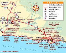 santa barbara california map best 25 santa barbara california ideas on santa