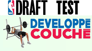 bench press test nba draft youtube