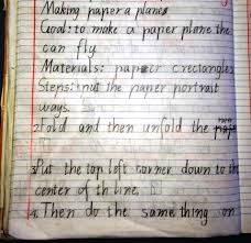 writing a math paper procedural text the fun genre how to make a paper plane school 2014 132