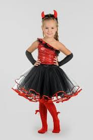 Kids Halloween Costumes Girls Girls Lil Devil Costume Party Halloween Costumes Ideas