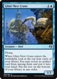 glint nest crane kaladesh gatherer magic the gathering