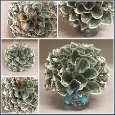 money bouquet money poinsettia arrangement or money bouquet made by me from