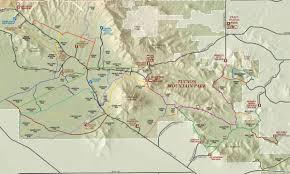 mt lemmon hiking trails map pass trail loop great runs