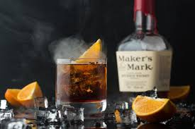 whiskey cocktail photography manhattan cocktail with a hint of smoke food u0027n u0027chef