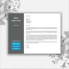 landscape resume template by documentfo design bundles