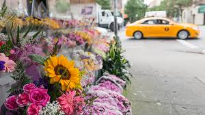 flowers nyc floral designer creates flower flashes around the city