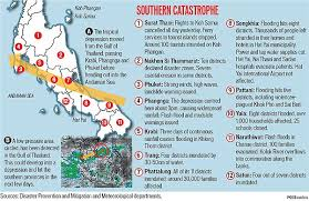 map of hat yai south thailand hat yai city left reeling by its worst flood