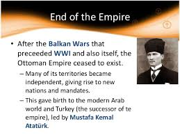 Downfall Of Ottoman Empire by Nationalism In The Ottoman Empire