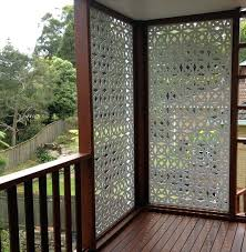 diy patio privacy ideas small front porch privacy ideas small