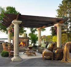 pergola styles 15 designs of pergolas to shade seating areas home design lover