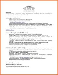 Sample Resume For Phlebotomist by Phlebotomy Resume Sop Example