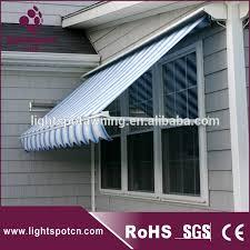Buy Awning Classical Drop Arm Sun Shade Window Folding Arm Awnings Bat Wing