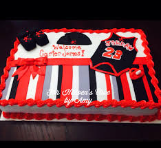 michael jordan theme baby shower cake for heaven u0027s cake by amy