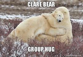 Group Hug Meme - clare bear group hug make a meme