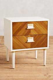 geo marquetry nightstand anthropologie