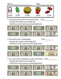 making change worksheets by hmedlin teachers pay teachers