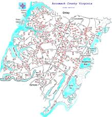 Floyd Va Map Grave Sites In Lower Accomack County