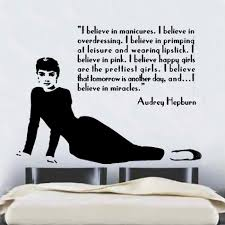 wall decal audrey hepburn color the walls of your house