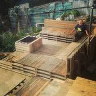 Palet Patio How To Build A Pallet Patio