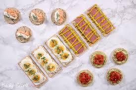 sur le canap ou dans le canap fancy yet simple gluten free canapé ideas dairy free low fodmap