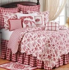 Red Bedding All White Bedroom Set Foter