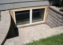 Basement Well Windows - basement egress windows and doors basement renovations toronto
