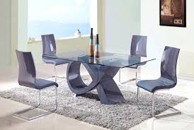bedroom personable grey dining room table and chairs design