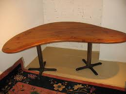 Kidney Bean Shaped Desk Kidney Bean Shaped Table Kidney Beans Iron And House