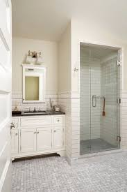 small white tiles in classic bathroom love this bathroom esp the shower