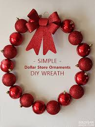 simple and cheap ornament wreath rosyscription