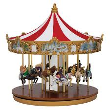 mr christmas mr christmas world s fair animated musical classic carousel