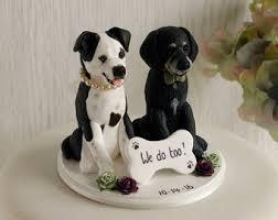 dog cake topper etsy