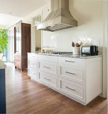 Walnut Kitchen Cabinet Walnut Kitchen Cabinets Kitchen Contemporary With Modern Hardware