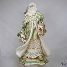 gregorian collection large santa figurine by fitz and floyd
