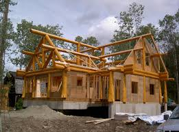 One Story Log Cabins Post And Beam Gallery Artisan Custom Log Homes