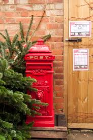 welford christmas tree farm our very own special post box we have