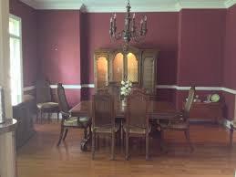 Henredon Dining Room Table by Vintage Henredon Dining Room Set My Antique Furniture Collection