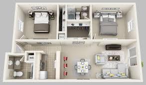 2 Room Flat Floor Plan Floor Plans Oxford Manor Apartments