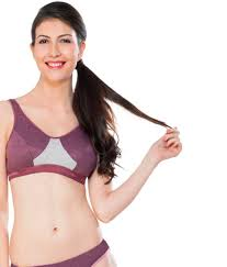 Nagina International Buy Nagina Purple Cotton Bra Online At Best Prices In India Snapdeal
