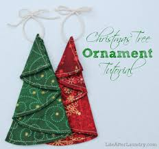 tree ornament tutorial after laundry