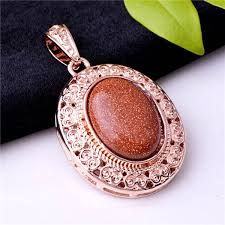 beautiful stone necklace images Vintage design beautiful oval shape necklace pendant oval stone jpg