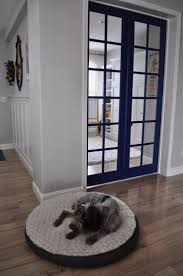 Worldly Gray Walls And Trim by The Dog Isn U0027t The Only One Who Approves Of Rachel U0027s New French