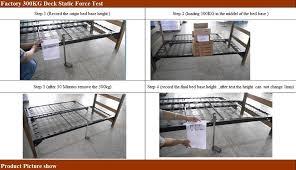 foldable platform bed highrise folding metal bed frame 14