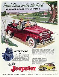 1948 willys jeepster jeep willys overland jeepster ad a photo on flickriver