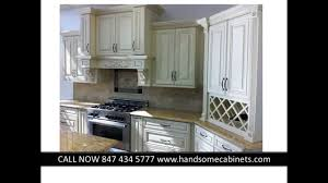J K Kitchen Cabinets J U0026k Rta Cabinets Chicago Creme Maple Glazed By Handsome Youtube